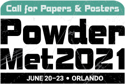 PowderMet2021 Call for Papers